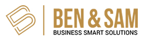 Ben and Sam Business Smart Solutions Logo
