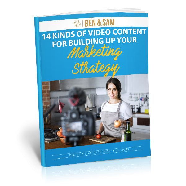 14 Kinds of Video Content for Building Up Your Marketing Strategy