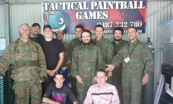 team building paintball