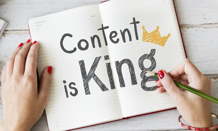 create useful content to compliment your marketing