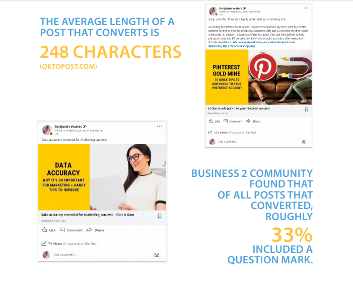 Tip 5 Publish Your Most Engaging Content in Linkedin