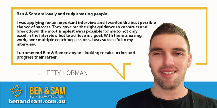 Jhetty Hobman Was successful in an Airline Interview with Coaching from Ben & Sam