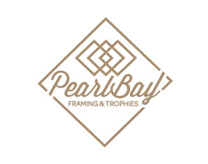 Pearl Bay Framing New Logo Design