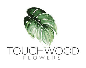 Touchwood Flowers Logo Design Port Macquarie